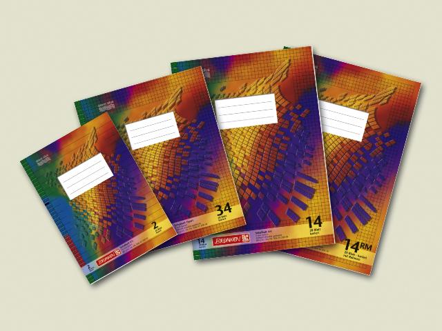 Brunnen Schulheft DIN A4 Hefte versch Lineaturen wählbar 16 /& 32 Blatt !