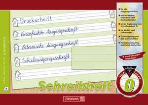 Schulheft A5 quer Lineatur 0 Schreiblernheft