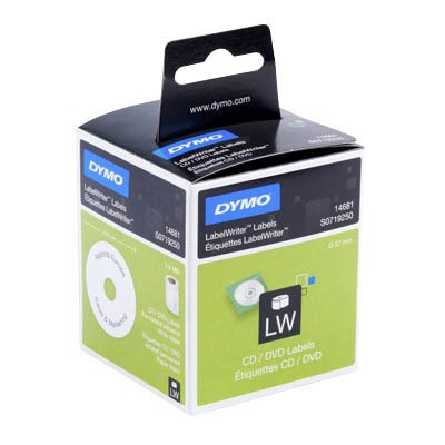 Dymo Etiketten LabelWriter Labels CD/DVD Labels