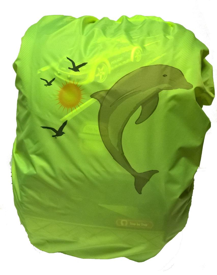 Regenschutz mit Motiv Delfin