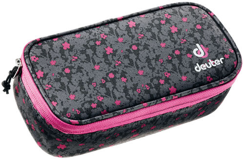 Pencil Case black flora Deuter zu Ypsilon