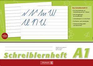 Schreiblernheft Lineatur A1 für die Vorschule