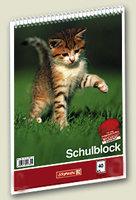 Klasse Brunnen Schulblock A5 liniert Lineatur 1SpiralblockSchreibblock 1