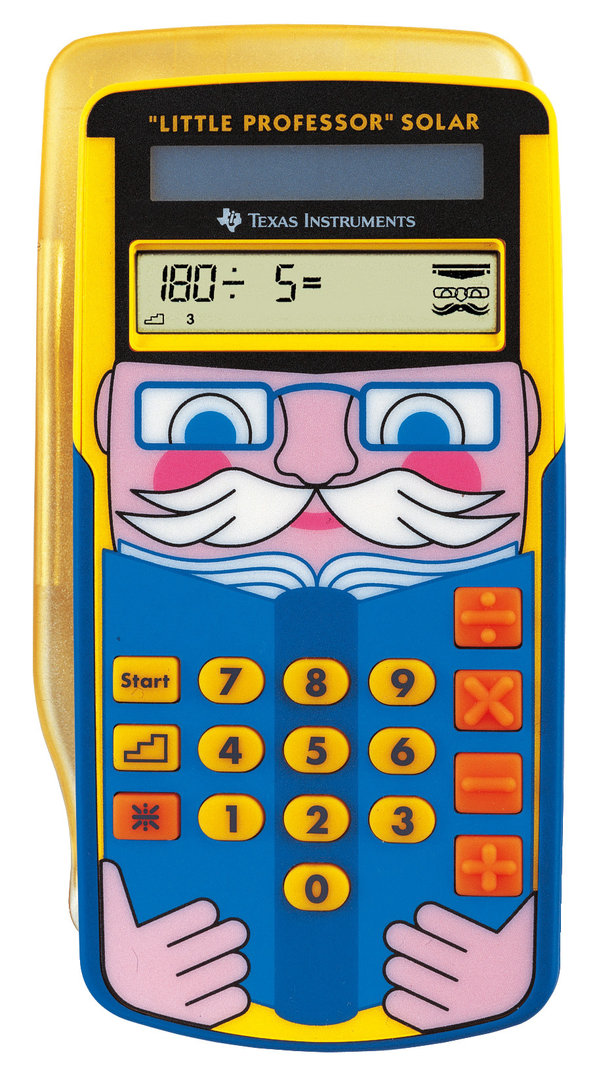 Little Professor Texas Instruments