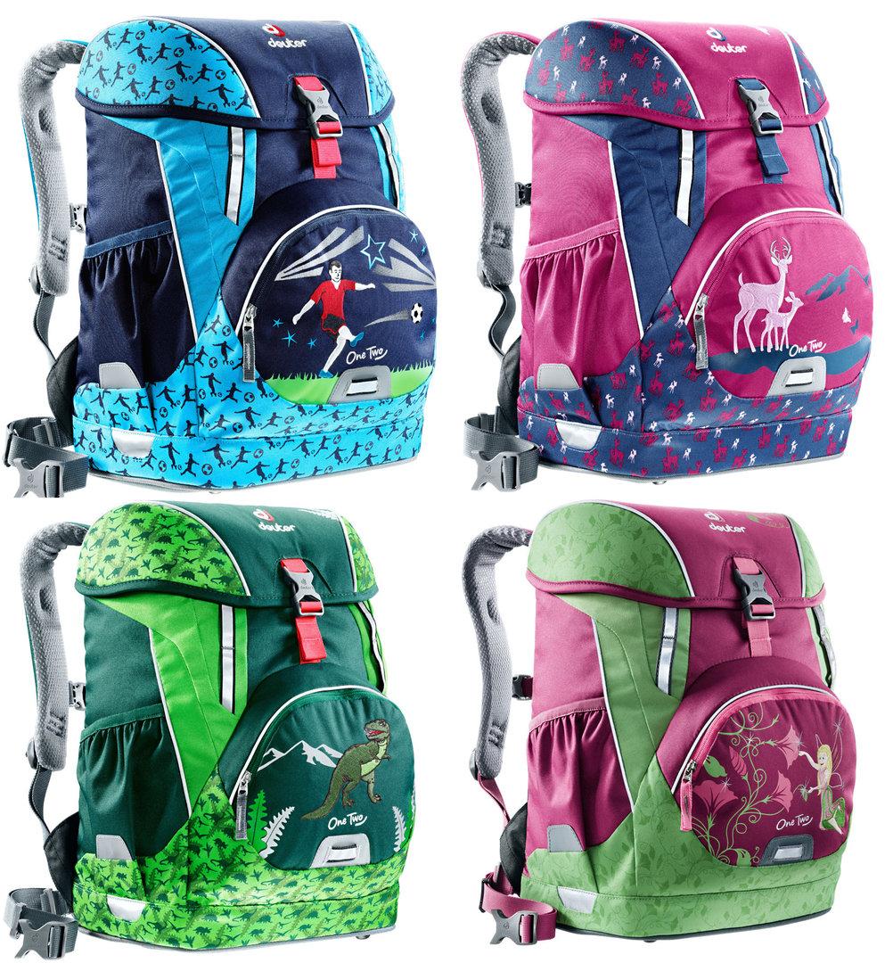 7e09920534dc3 One Two Schulranzen Set Sneaker Bag von Deuter 5-teilig