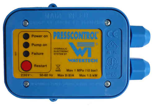 Elektronik Presscontrol 1,5 Elektronikkarte Watertech